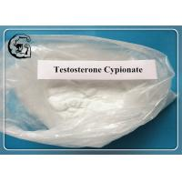 CAS 58-20-8 Raw Steroid Powders Testosterone Cypionate Test C For Muscle Enhancement Manufactures