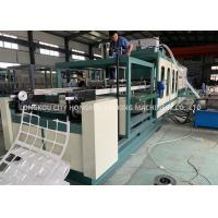 China Automatic PS foam Disabled food container vacuum forming machine on sale