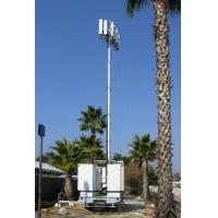 Vehicle Mounted Pneumatic Telescopic Mast Mobile Light Tower With tripod Manufactures