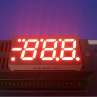 Quality 0.52 Inch 7 Segment Led Display 3 Digit , 7 Segment Blue Led Display For Air Conditioner Control for sale