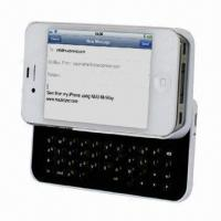 China Slide-out Bluetooth Keyboard for iPhone 4/4S on sale