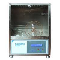 Textile Testing Equipments Stainless steel manufacturing 45 degree Automatic Flammability Tester Manufactures