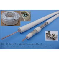 Coaxial Cable RG6, (CATV Cable, CCTV Cable, RG6U Cable, RG6, RG6 Cable, TV Cable, RG6 Tri shield) Manufactures