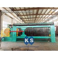 Smooth Running Gabion Box Machine Turbine Protection System Producing Rate >3.8 M / Min Manufactures
