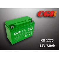 Rechargeable Lead Acid Battery CB1270MC 12V7Ah Backup UPS Motorcycle Application Manufactures