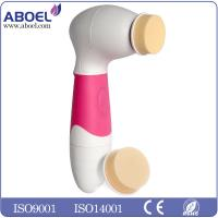 Handheld Rotating Exfoliating and Dermabrasion Facial brush , Anti Fine Lines And Wrinkles Manufactures