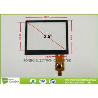 3.5 Inch Projected Capacitive Touch Screen , 320x240 Multi Point Touch Screen Manufactures