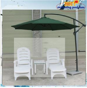 China portable white plastic beach chair on sale