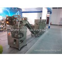 Eight scales Eletctronic sclae automatic pyramid nylon tea bag packing machine with envelop Manufactures
