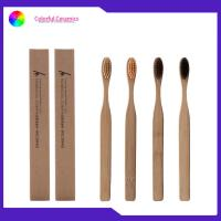 China FDA Approved Bamboo Charcoal Toothbrush Homestay Wood Soft / Medium Bristle on sale