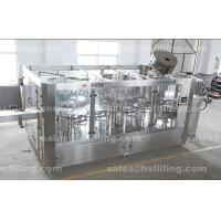 Automatic water bottling plant use 3-in-1 monoblock rinsing-filling-capping machine Manufactures