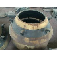 cone crusher spare parts high manganese cone liner bowl liner mantle Manufactures