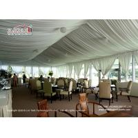 Quality Exquisite Arcum Outdoor  Event Tents 10x20m With Glass Wall For Golf for sale