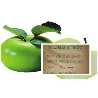 Acidity Regulators , Malic Acid CAS 6915-15-7 With DL & L For Cool Drinks Manufactures