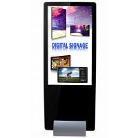 Quality 55inch  super slim shopping mall kiosk design narrow bezel lcd digital signage with software for sale