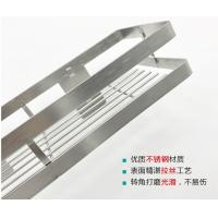 No Nail Stainless Steel Wall Spice Rack Seasoning Shelf Polish Stainless Steel Manufactures