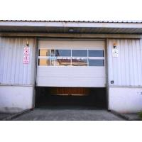 White 40mm Width Insulated Mental Industrial Sectional Doors Outside Application Manufactures