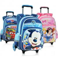New Disney Mickey and Minnie 5D Kid's School Bag Trolley Bag For Primary School Manufactures