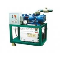Buy cheap Series ZKCC portable vacuum pump for power transformer from wholesalers