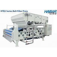 Belt Filter Press for Water Treatment and Sludge Dewatering (HTB3-2000) Manufactures