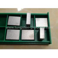 WNiCu Tungsten Nickle Copper Alloy , Tungsten Heavy Alloys For Medical Shielding Manufactures