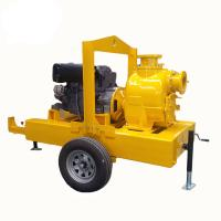 electric motor powered self priming trash pump Diesel Engine Driven Septic Tank Pump With Trailer Mounted Manufactures