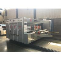 China Economic Flexo Printer Slotter Machine Save Labour Time Improve Efficiency on sale