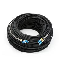 China 60m ODVA BBU/RRU Patch Cable for CPRI Application, with Compact RRU/BBU Helix Cover Duplex LC Connectors on sale