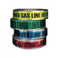 Buy cheap Underground Electrical Detectable Caution / Warning Tape (NBA-DWT02) from wholesalers