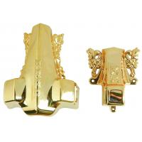 Customerized Coffins And Caskets Accessories Model 3#DG For Wraped Casket Handle Manufactures