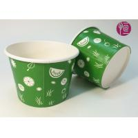 22oz Frozen Yogurt  Disposable Ice Cream Cups With Dome Lid Manufactures