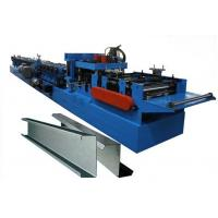 100-300 Mm C Z Purlin Forming Machine Of Galvanized Steel Strip Or Carbon Steel Manufactures