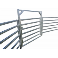 China Hot Dipped Galvanized Pipe Full Welded Silver Painted  AS/NZS standard 1.8mx2.1m width Livestock Panels on sale