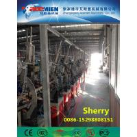 PVC artificial marble profile making machine extrusion line artificial marble profile production line Manufactures