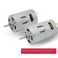 China 35.8mm High Torque Electric Motor , 12v 24v RS 550 DC Motor With Metal Brush on sale