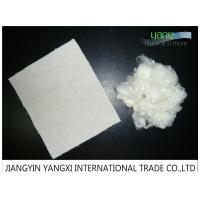 Heat Resistant White Bosilun Fiber For Wool Yarn / Worsted Spinning Yarn Manufactures