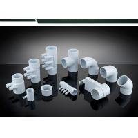 PVC Plumbing Parts Plastic Water Distribution Manifold , Tee , Elbow For