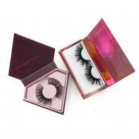 China Wholesale Own Brand Custom Package Private Label 3D Mink Eyelashes on sale