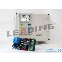 Safety Sewage Pump Control Panel , Dual Pump Controller Phase Reversal Protection Manufactures