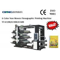 CE Four Color Roll  To Roll Flexo Printing Machine With High Quality Manufactures