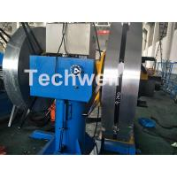 Rotary Double Head Uncoiler / Decoiler Machine With Manual Or Hydraulic Type Manufactures