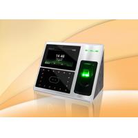 Tcp / Ip Communication Biometric Face Recognition System With Touch Screen Manufactures