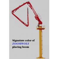 Stable Hydraulic Concrete Placing Boom  Concrete Tower Boom 34L/Min Flow Manufactures