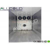 China Cucumbers Precooling Forced Air Cooler With Galvanized Steel Housing on sale