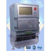 China 4 Programmed Channel 3 Phase Electric Meter / Prepaid Industrial Power Meter on sale