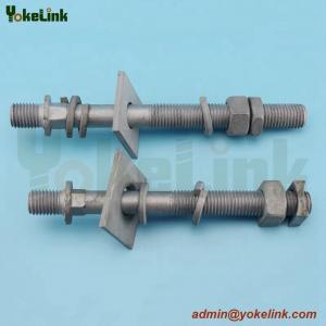 China Clamp top line post insulator ANSI 57-15 line post insulator studs on sale