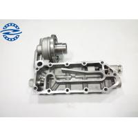 Silver Color Excavator Engine Spare Parts 6D114 Oil Cooler Cover Manufactures
