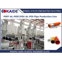 PEX-AL-PEX Plastic Pipe Making Machine / Multilayer PEX Pipe Production Line Manufactures