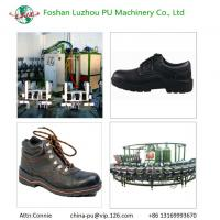 PU Machinery Factory Foshan Luzhou Sole Safety Shoes Injection Machine Manufactures