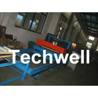 China Continuous Caterpillar PU Sandwich Panel Production Line With Forming Speed 0 - 12m/min on sale